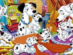 101 Dalmatians Hidden Letters