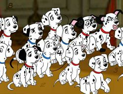 101 Dalmatians Spot the Numbers