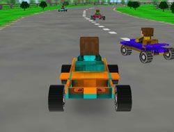 Minecraft 3D Racing