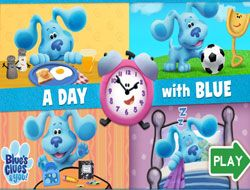 A Day with Blue
