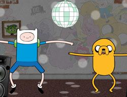 Adventure Time Animation Game