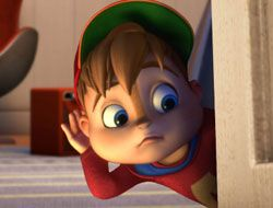 Alvin on Tiptoes