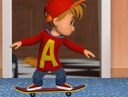 Alvin Skateboard Madness