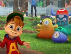 Alvin vs Monsters