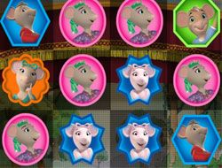 Angelina Ballerina 3 in a Row