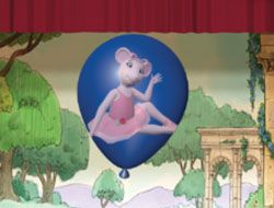 Angelina Ballerina Balloon Pop