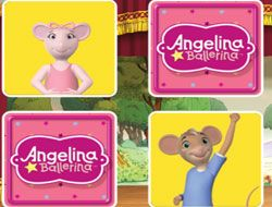 Angelina Ballerina Mix Up