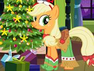 Applejack Xmas Outfit
