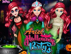 Ariel Halloween Parties