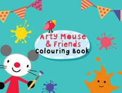 Arty Mouse and Friends Coloring Book