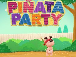 Atom and Quark Pinata Party