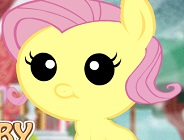 Baby Fluttershy Day Care