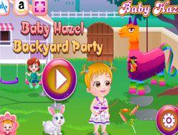 Baby Hazel Backyard Party