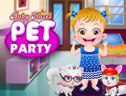 Baby Hazel Pet Party