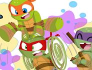 Baby Ninja Turtles Online Coloring