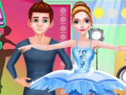 Ballerina Dancer Beauty Salon