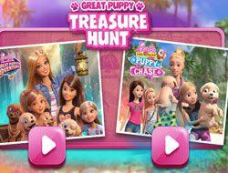Barbie Great Puppy Treasure Hunt