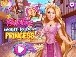 Barbie Wants To Be A Princess