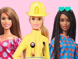 Barbie You Can Be Anything Matching