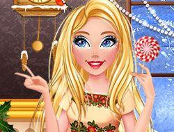 Barbie's Christmas Makeup Trends