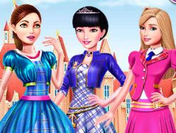 Barbies Life Of Charm School