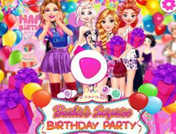 Barbies Surprise Birthday Party