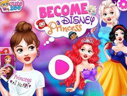 Become A Disney Princess