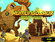 Ben 10 Alien Force Humungousaur Giant Force