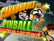 Ben 10 Cannonbolt Pinball Ghostfreak's Revenge