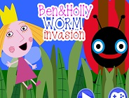 Ben and Holly Worm Invasion