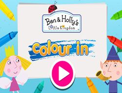 Ben and Hollys Little Kingdom Colour In