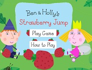 Ben and Holly's Strawberry Jump