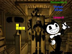 Bendy and the Ink Machine Tetris