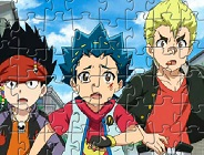 Beyblade Burst Characters Puzzle