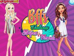 Bffs Challenge Stripes vs Florals