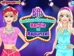 Bffs Fashion Showdown Barbie Vs Rapunzel
