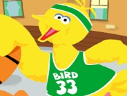Big Bird's Basketball