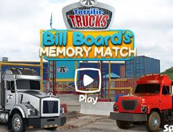 Bill Boards Memory Match