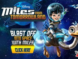 Blast Off Into Space With Miles