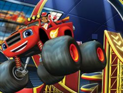 Blaze and the Monster Machines 6 Diff