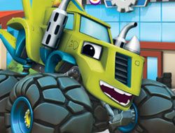 Blaze and the Monster Machines Flip and Match