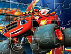Blaze and the Monster Machines Jigsaw