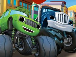 Blaze and the Monster Machines Pop and Spell