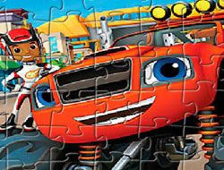 Blaze and the Monster Machines Puzzle