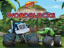 Blaze and the Monster Machines Word Blocks