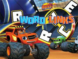 Blaze and the Monster Machines Word Links