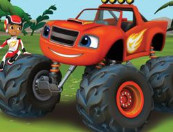 Blaze and the Monster Machines Word Train