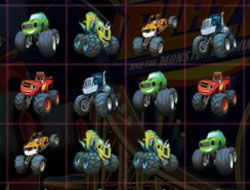 Blaze Monster Machines Crush