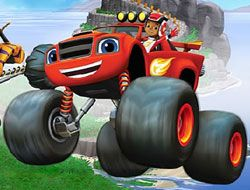 Blaze Monster Truck Hidden Stars
