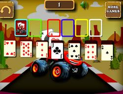 Blaze Monster Truck Solitaire